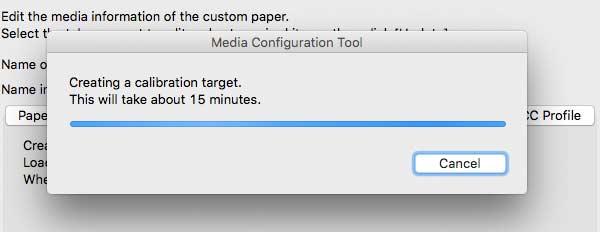 creating media test calibration