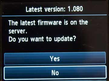 updating formware