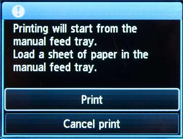 manual paper feed info