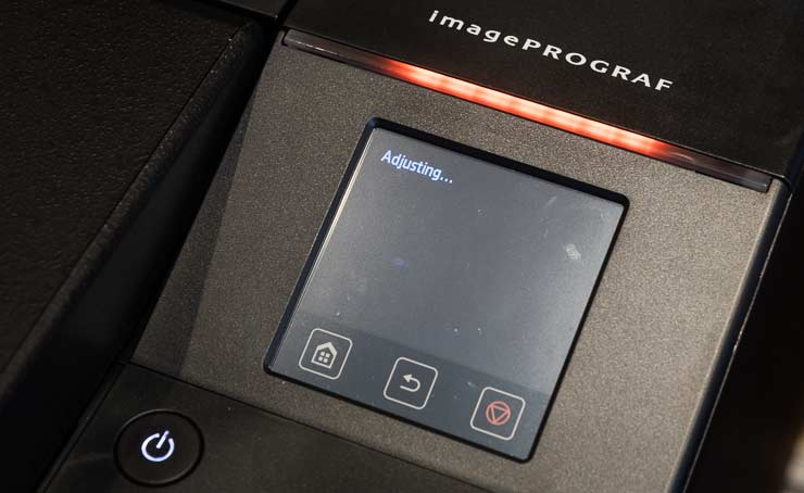 printing adjsutment print