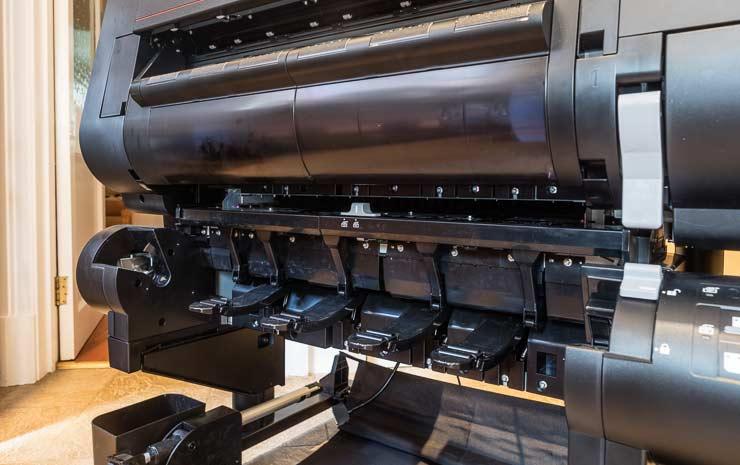 roll holder 2 take-up mode