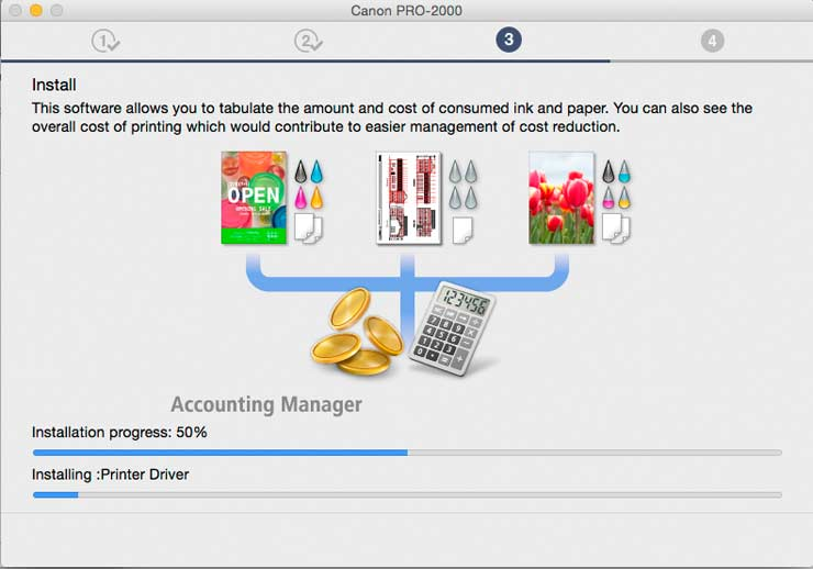 accounting manager setup