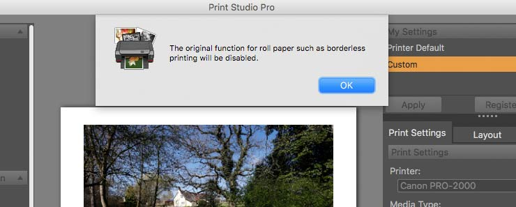 printing on sheet paper