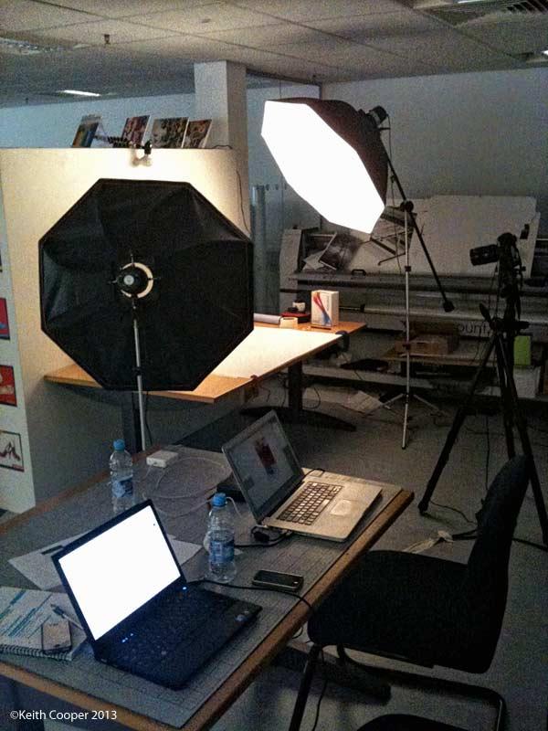 basic product photography setup