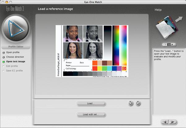 printer test image