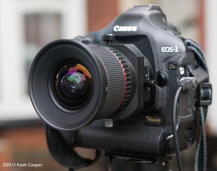 lens testing setup