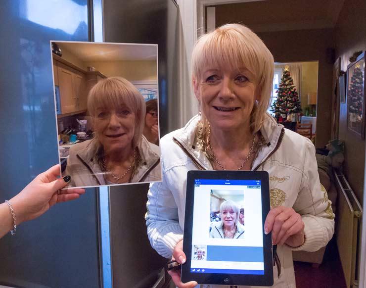 iPad photo printing