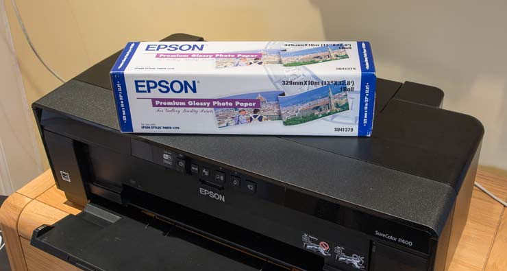 Epson PGPP 13' roll paper
