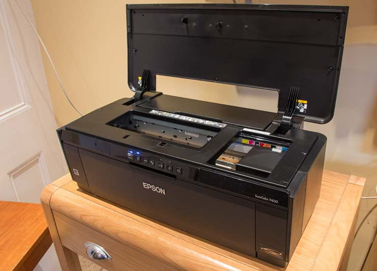 printer top panel
