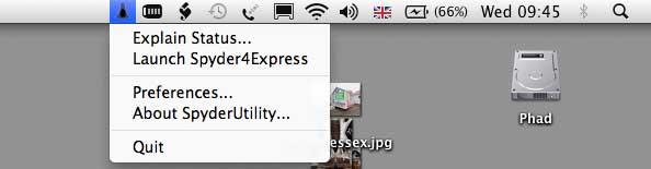 Spyder utility settings