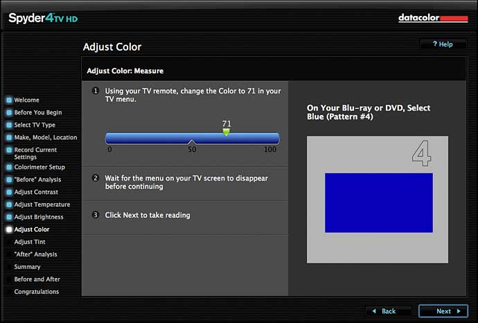 new settings for colour controls