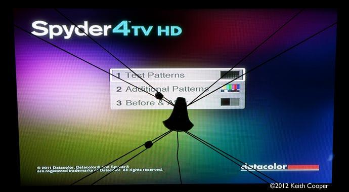 main menu on DVD
