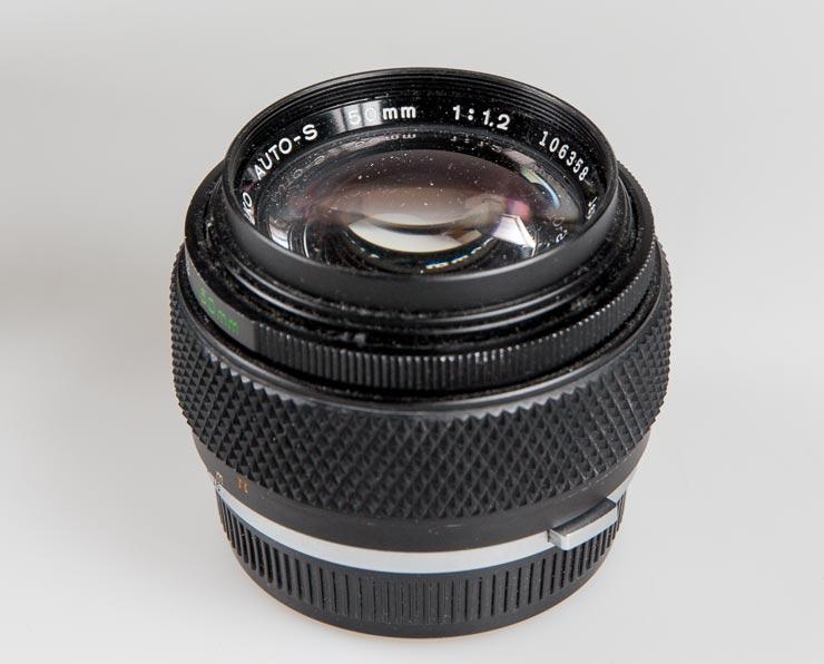 zuiko 50mm f/1.2