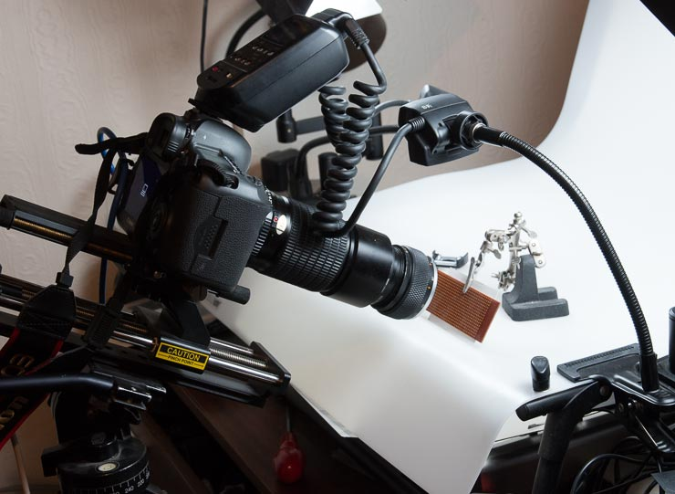 lens stest setup