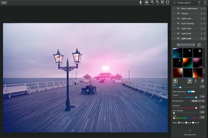 cromer pier with fireball over North Sea