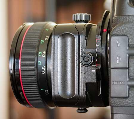 lens rise / fall