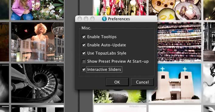 plugin preferences for topaz adjust 5