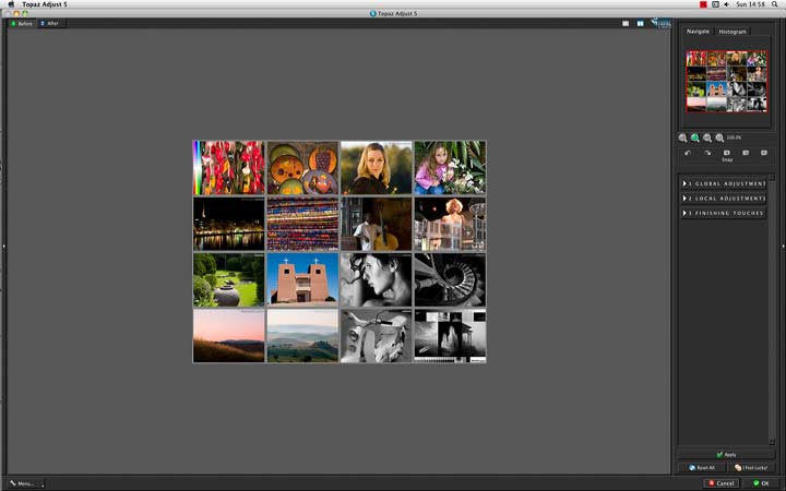 opening the plugin with an image from photoshop