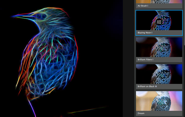 how detail affects the glow processing