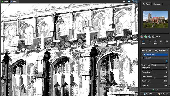 detail adjustment via plugin settings