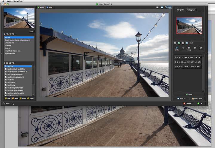 plugin editing window