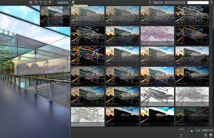 multiple image samples