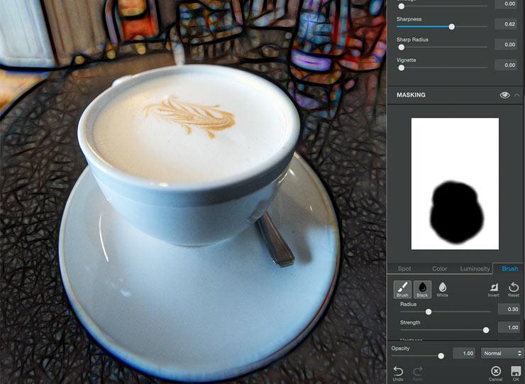 image editing mask