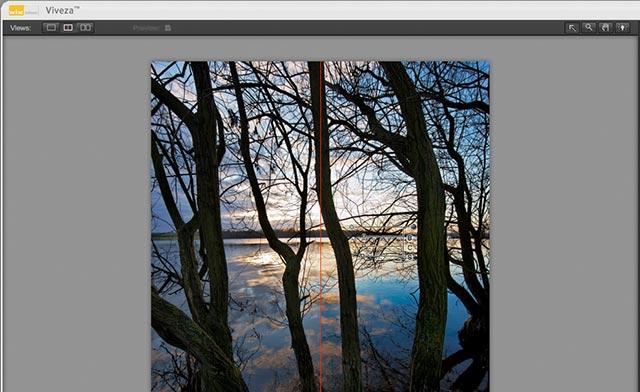 split screen effect view