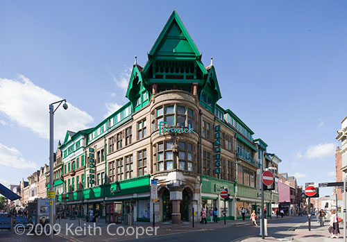 Fenwicks department store Leicester