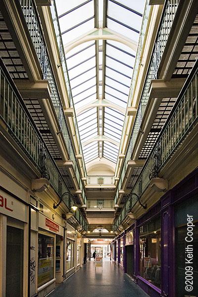 Silver Arcade - Victorian shopping arcade, Leicester