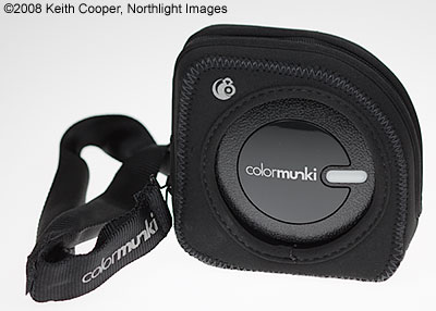 ColorMunki in its carry case