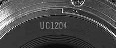UC1204 Canon Date code - December 1988