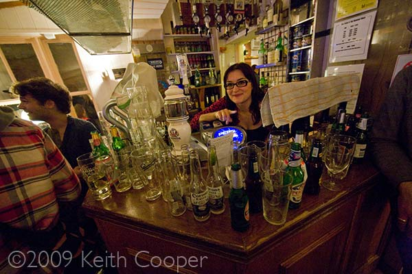 Pump and Tap runs out of beer 24th Nov 2009