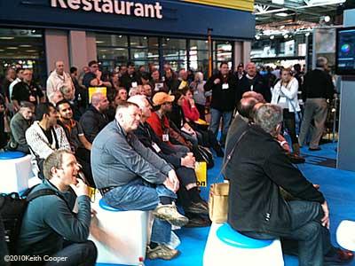 audience at seminar