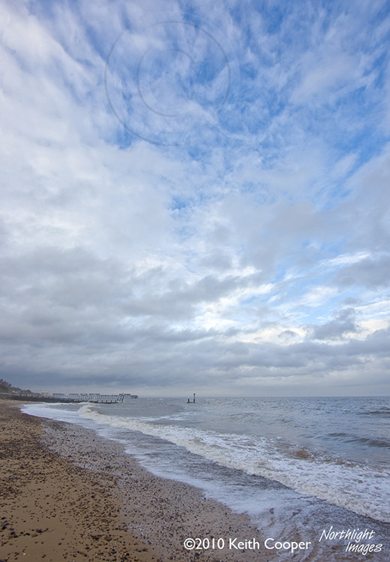 The beach and pier, Southwold, Suffolk