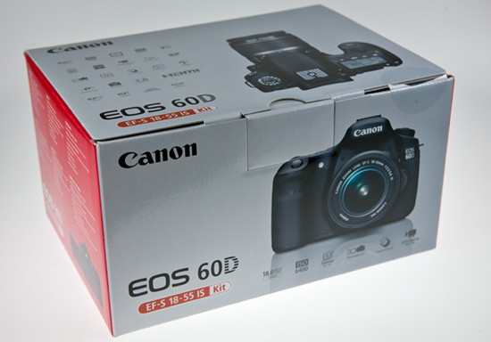 Canon 60D kit with 18-55mm lens