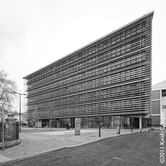 Hawthorn Square, De Montfort University, Leicester