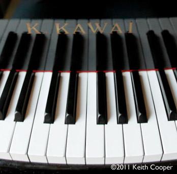 Kawai piano keys