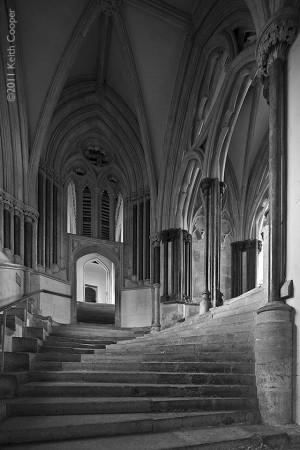 Wells cathedral - chapterhouse teps