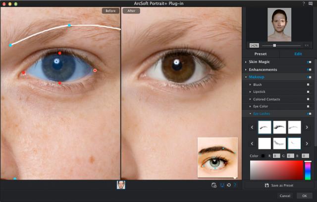 refining detection of eye shape