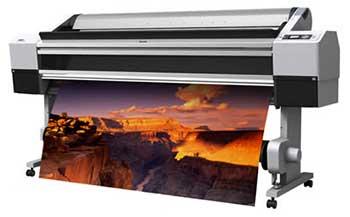 "Epson Stylus Pro 11180 64"" width printer"