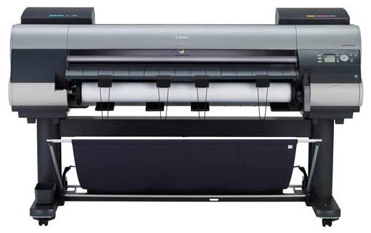 The Canon iPF8300S 44 inch wide format printer