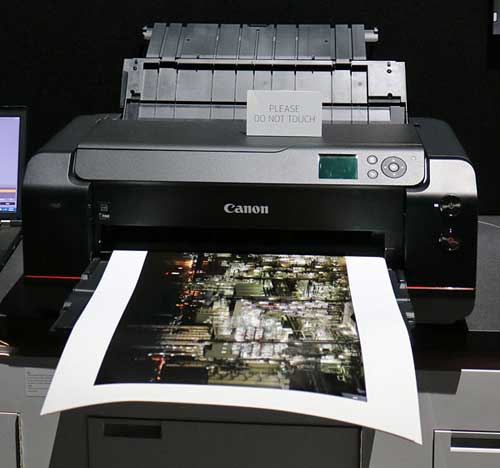 canon 17 inch desktop printer