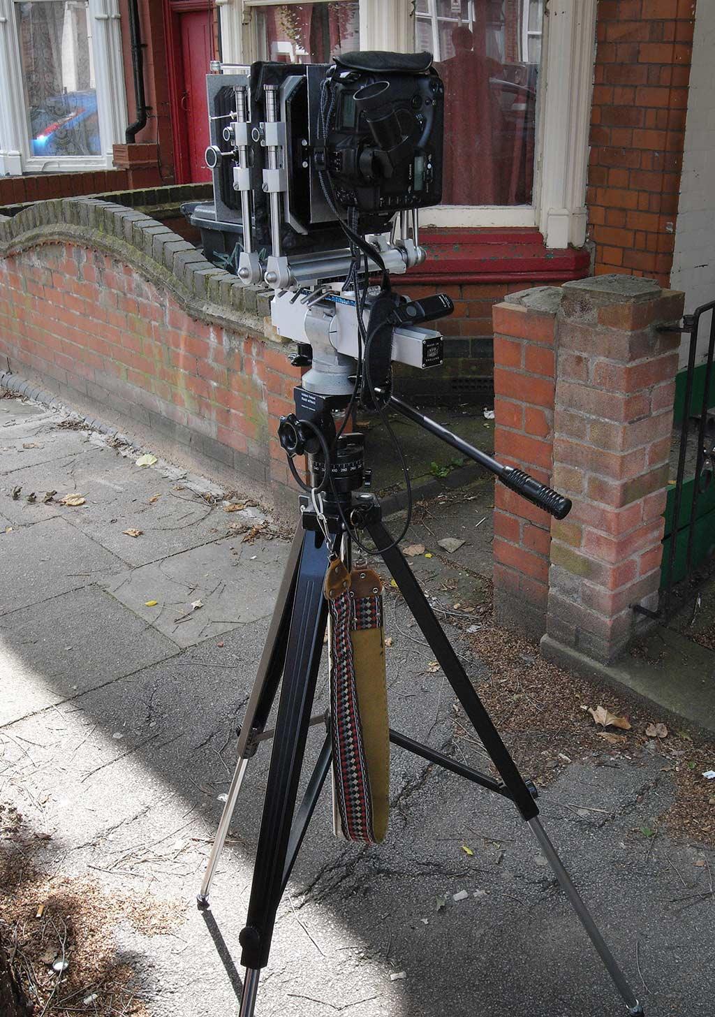 MPP camera on tripod