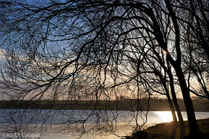 rutland water - late afternoon