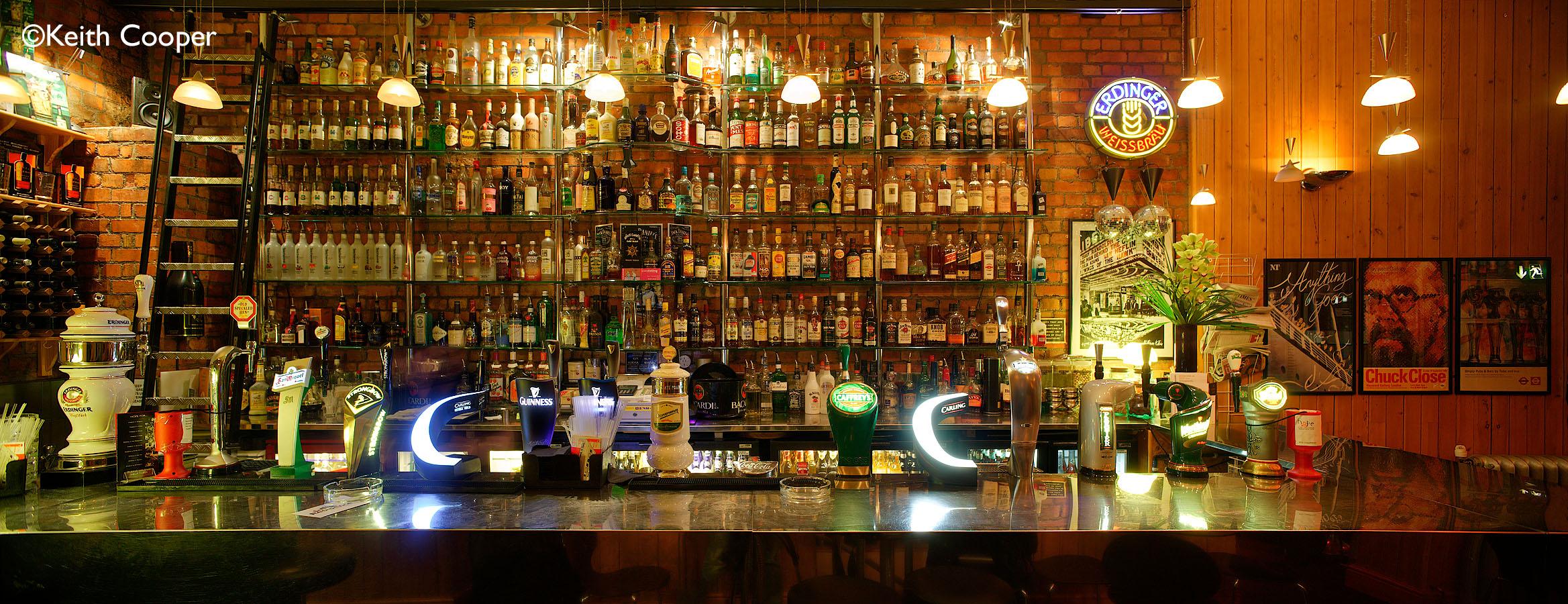 looking glass bar