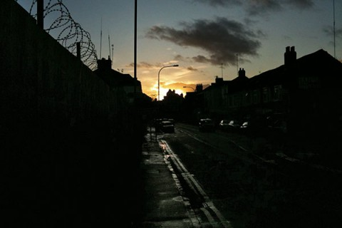 Using the iPhone camera - a walk home
