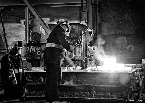casting steel