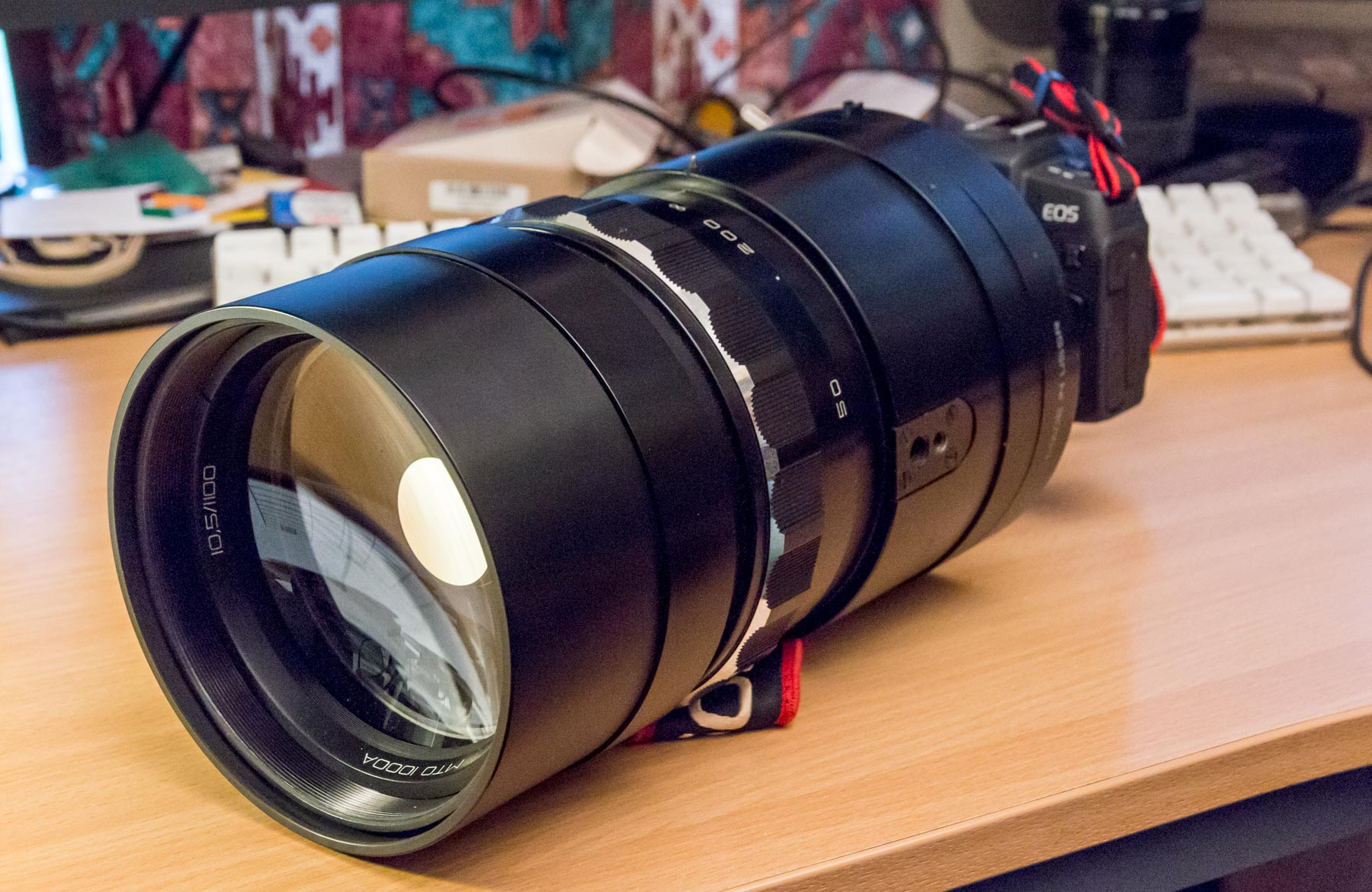 Using old lenses on a modern digital DSLR camera with adapters