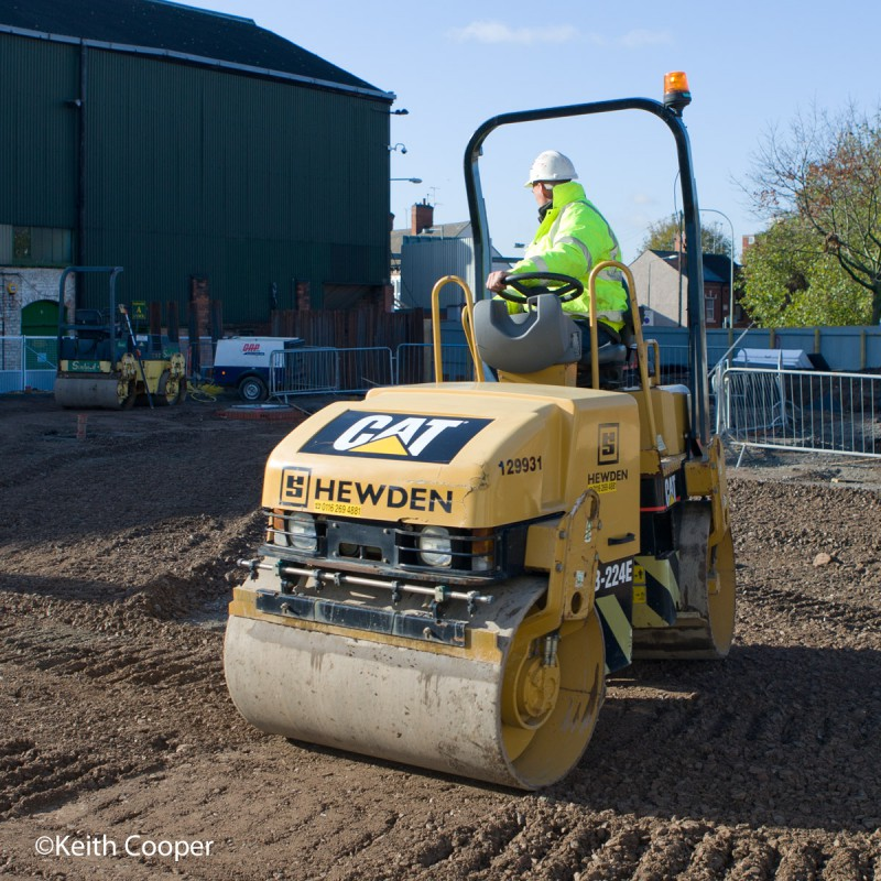 Ground levelling